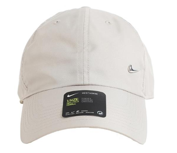 c4ee59f91b790 Details about Nike NSW H86 Metal Swoosh Caps Hat Beige Tennis Sports Golf  GYM Cap 943092-221