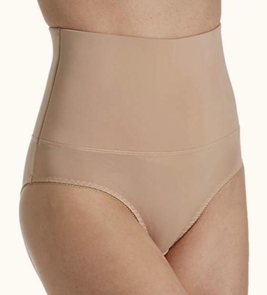 8458a720907 Heavenly Secrets Mid Waist Nude Control Shaping Brief Panty NEW ...