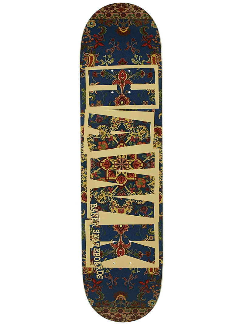 Baker Skateboards Deck Hawk Tapestry 8 FREE GRIP and Post new