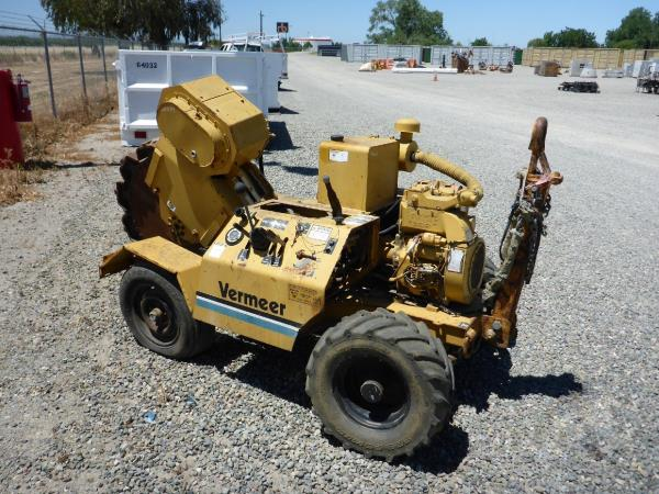 Vermeer TC4A hidráulico Canuto Trencher trinchera