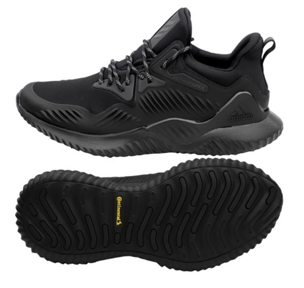 207ff0f7d Adidas Men Alpha-bounce Beyond Shoes Running Training Black Sneakers ...