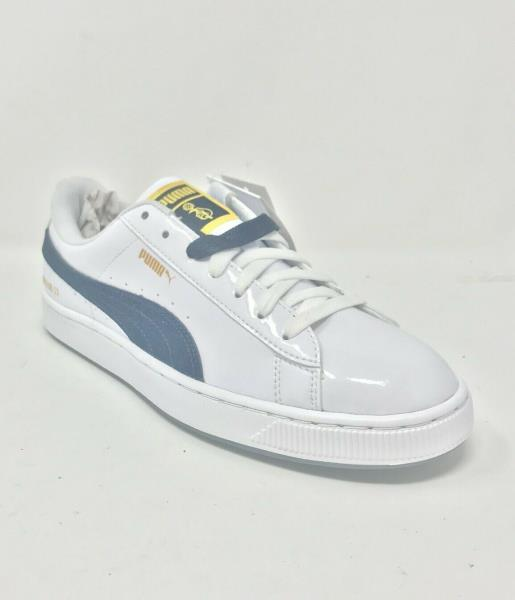 new styles dba66 5bf3a Details about PUMA X BTS Basket Patent Shoes Bangtanboys Collaboration  36827801- US 9.5
