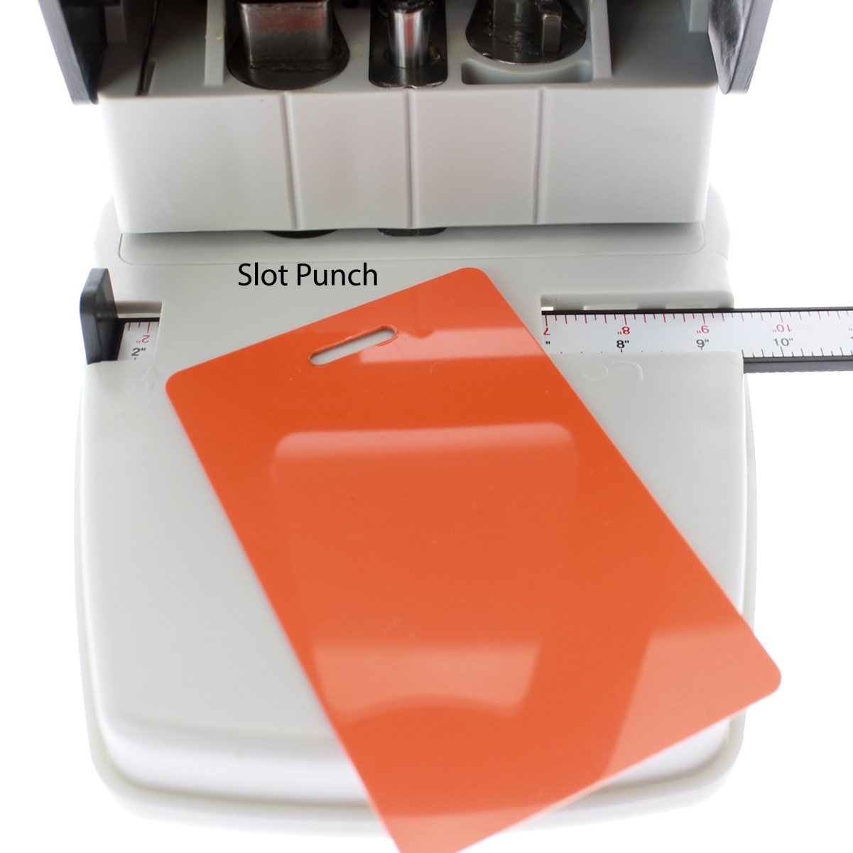 Desktop ID Card Hole Punch Tool for Name Badges - Three in One Slot ...