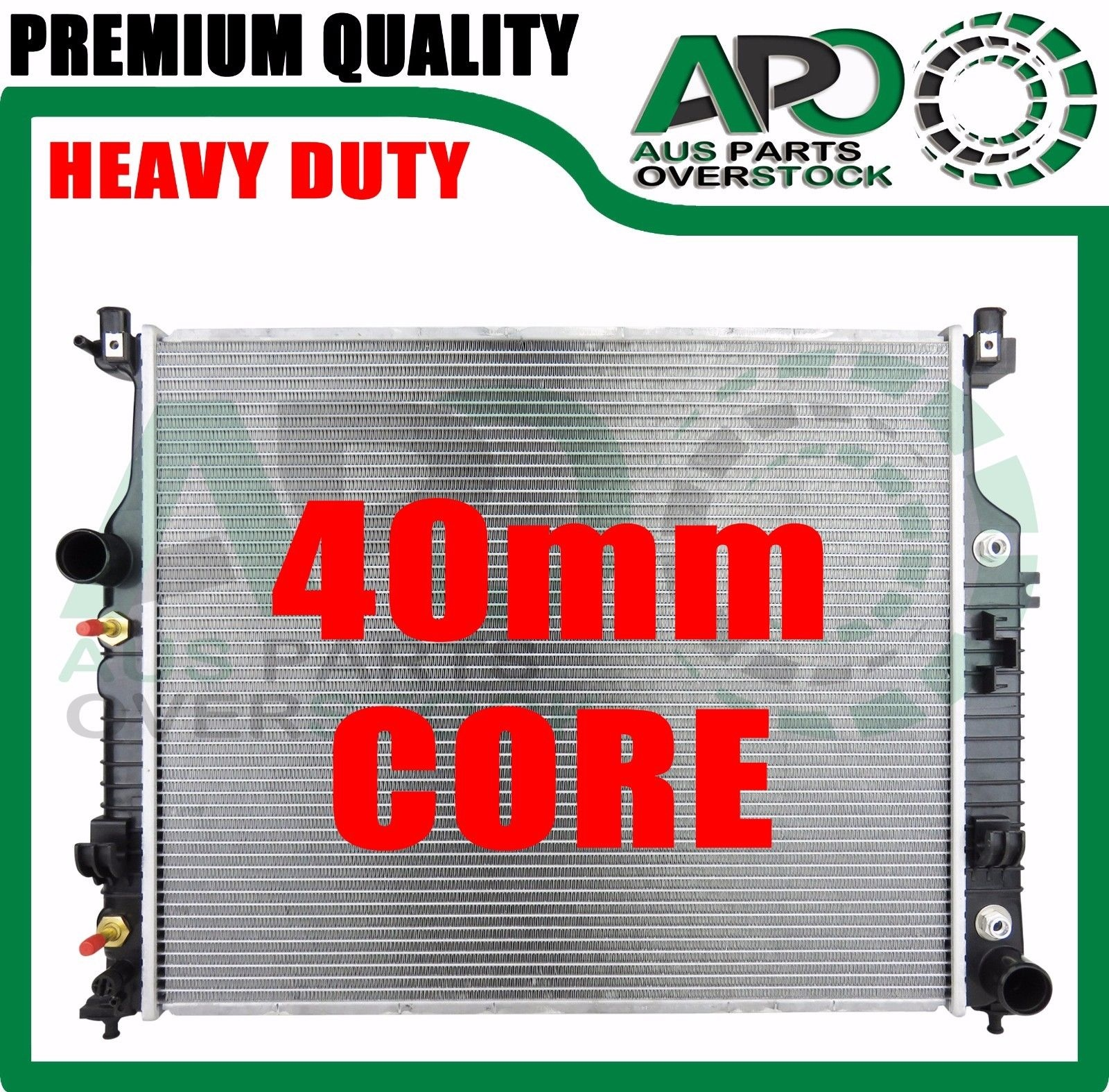 Premium Radiator Mercedes Ml Class W164 Ml280 Ml300 Ml320 Ml350 Ml450 2005