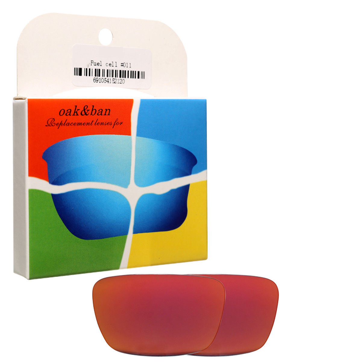 23d8e71cd5 Fire Red Replacement Polarized Lenses For Oakley Fuel Cell Sunglasses Frame  K003