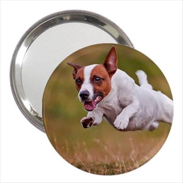 4a2fb923bae9 Details about Jack Russell Terrier Cosmetic Bag & Handbag Mirror - Dog  Canine