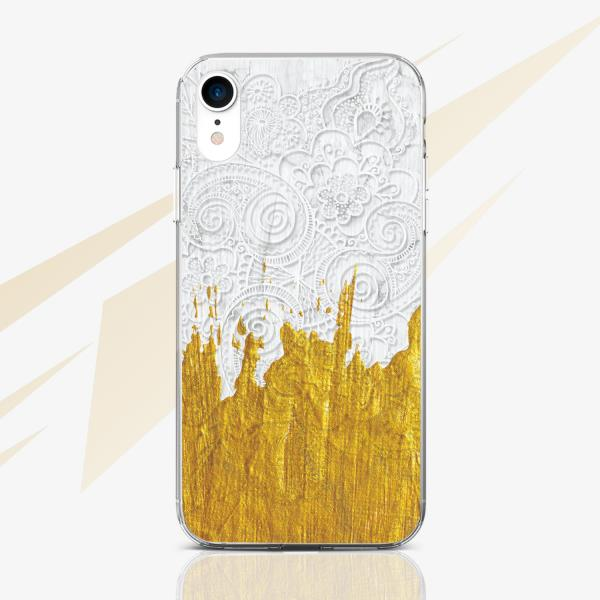White Totem Silicone Cover For iPhone XR Mandala Case iPhone 6s 7 ...