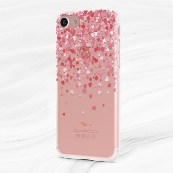 official photos c3fdf 484c0 Details about Valentine's Day Hearts Soft Silicone Case Cover For iPhone 7  8 Xs Max XR Plus 6s