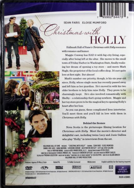 Christmas With Holly.Details About Christmas With Holly New Dvd Hallmark Hall Of Fame Sean Faris Eloise Mumford