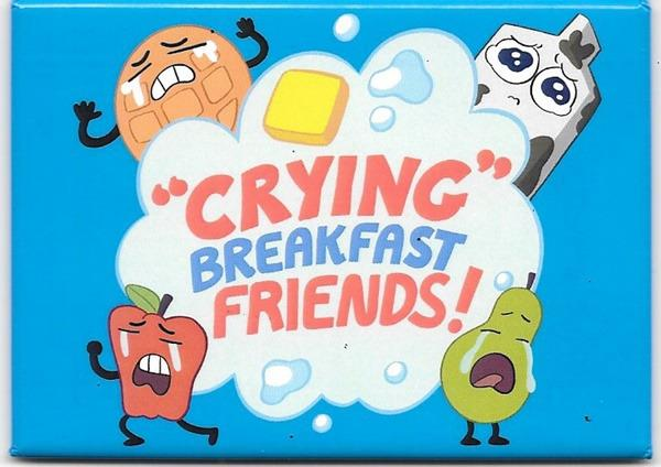 Details about Steven Universe Animated TV Series Crying Breakfast Friends  Refrigerator Magnet