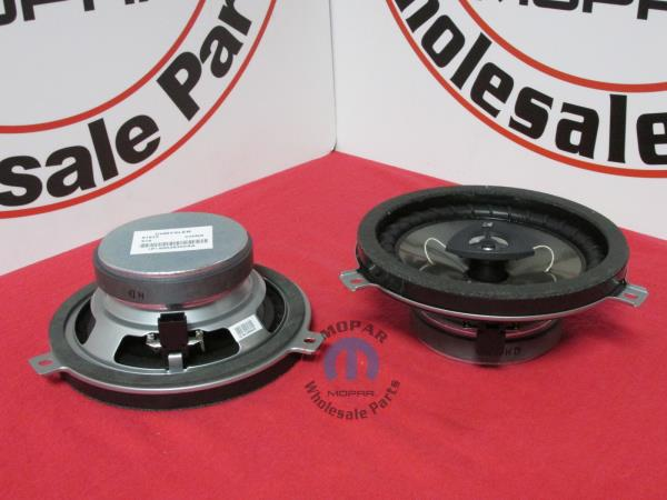 77kick10 010_600 dodge chrysler jeep kicker speaker upgrade new oem mopar ebay  at gsmportal.co
