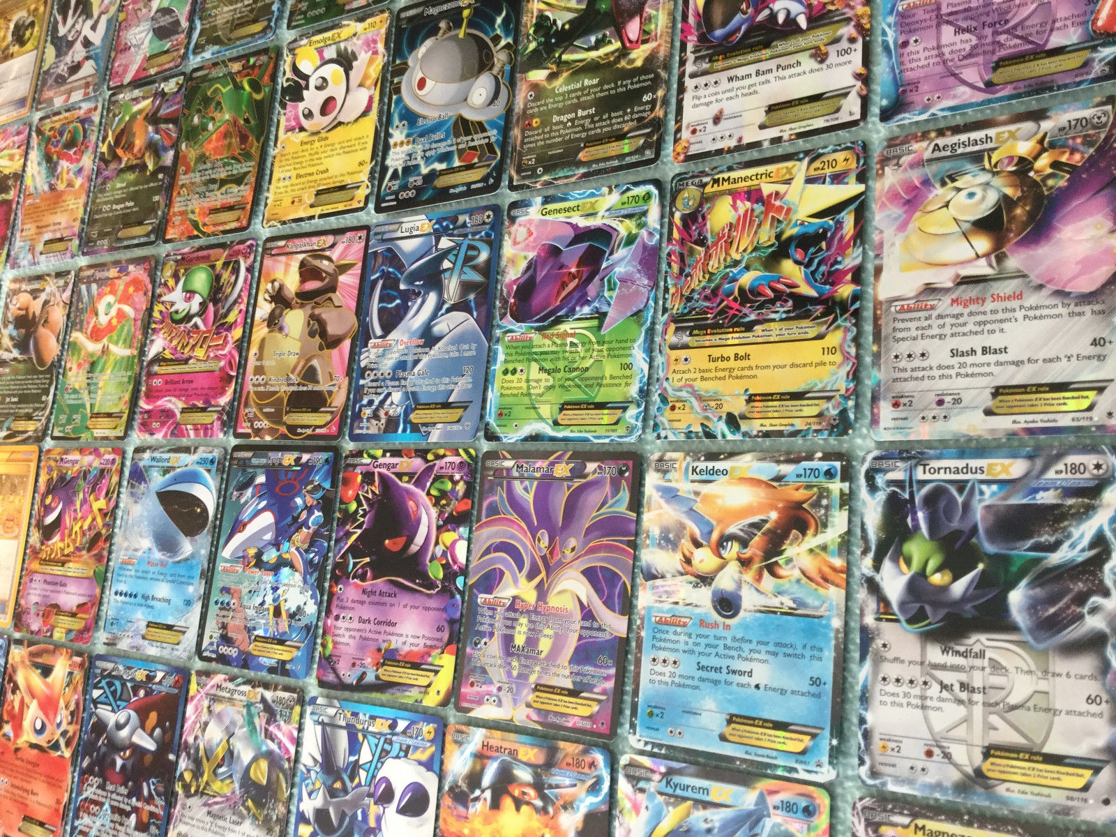 Pokemon Ex 5 Card Lot All Pokemon Ex Gx Or Mega Ex