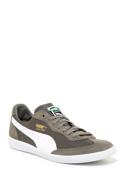 pretty nice 7a3bf 185b5  356999-13  Mens Puma Super Liga Og Retro - Grey White