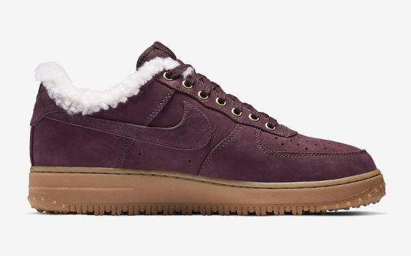 a1291497d0892 Nike Air Force 1 Premium Winter Burgundy Size 6 7 8 9 10 11 12 Mens  AV2874-600. 100% AUTHENTIC OR MONEY BACK GUARANTEED