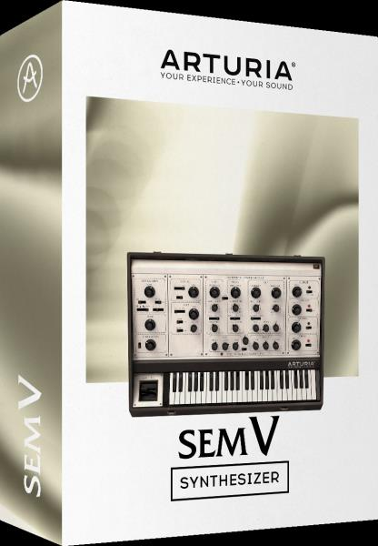 Details about New Arturia SEM V Analog-style Synthesizer Virtual Instrument  VST AU AAX Mac PC