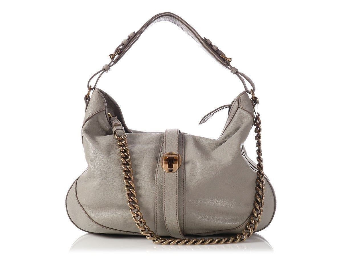 7562485f5f57 Burberry Gray Weatherby Hobo Bag Purse Versatile And Roomy