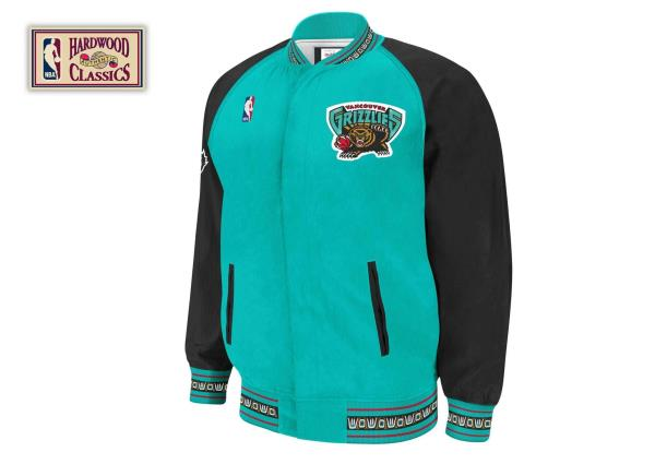 a68ffecdb Mens Mitchell   Ness NBA 1995-96 Authentic Warm Up Jacket Vancouver  Grizzlies
