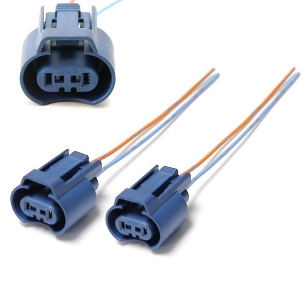 details about oem 9005 hb3 h10 9145 female adapters wiring harness sockets w 4\