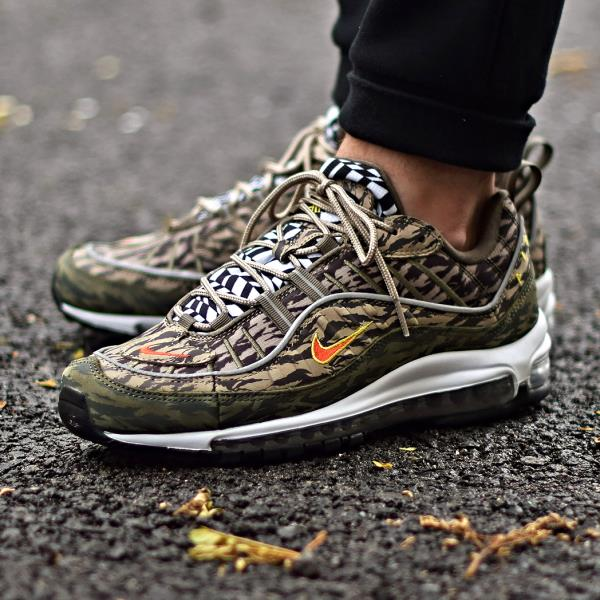 online store 1ac73 d7d1c Details about Nike Air Max '98 Sneakers Tiger Camo Size 8 9 10 11 12 Mens  Shoes New