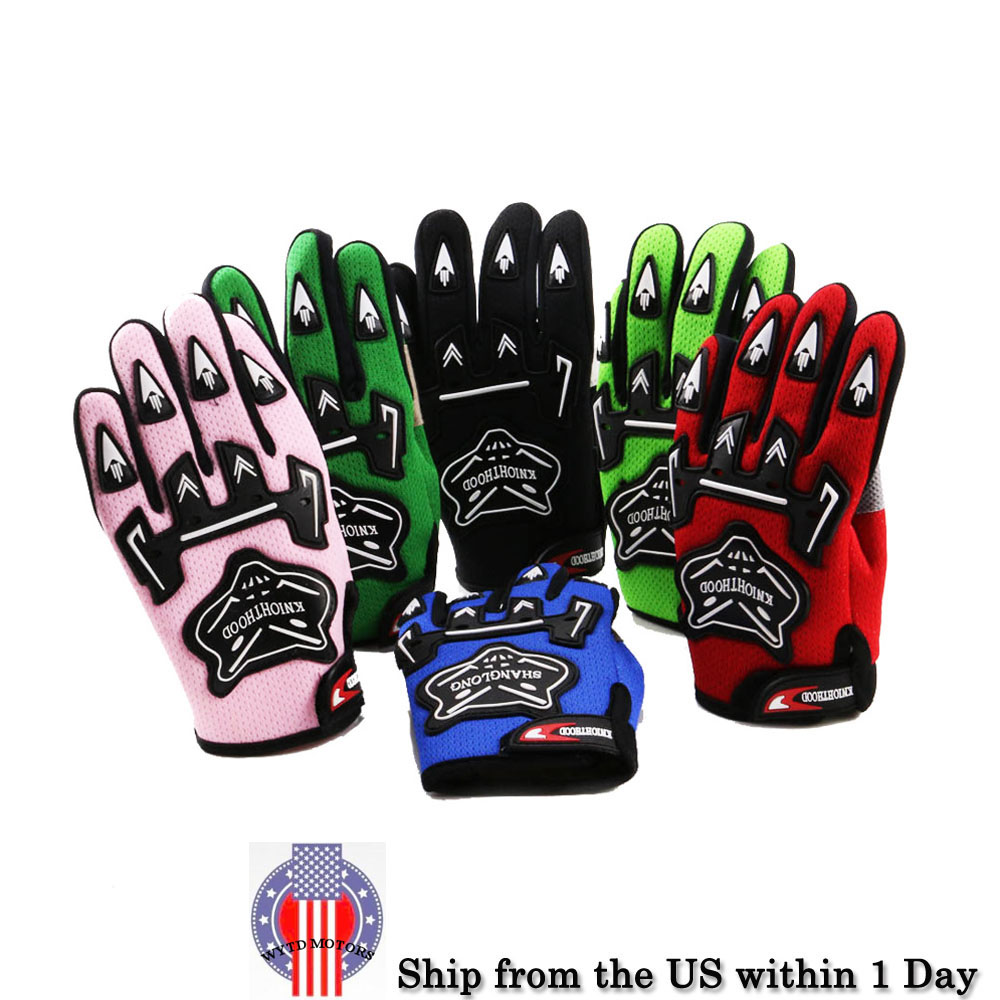 38f4652a5 Kids Racing Gloves Motorcycle Off-Road ATV Dirt Pit Bike Cycling ...