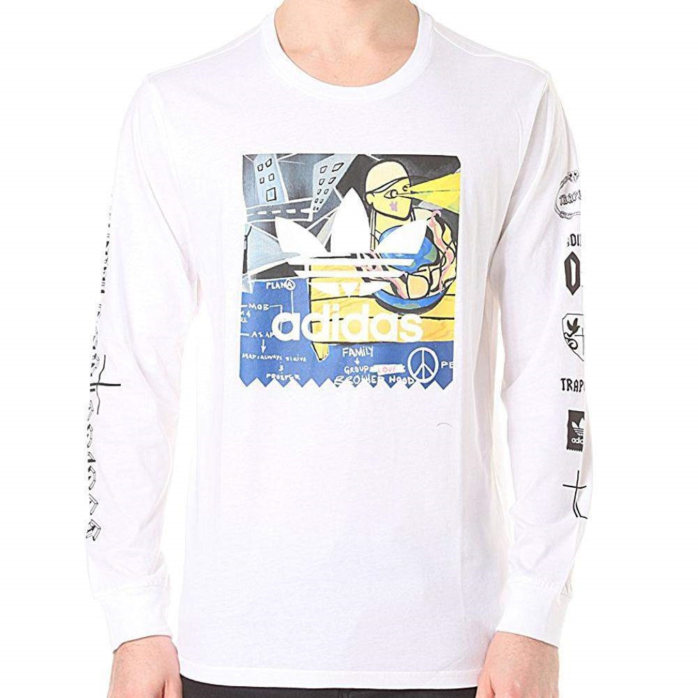 2a9591a7 Details about adidas Skateboarding x A$AP Ferg Trap Lord Long Sleeve Tee  Originals | AY2662