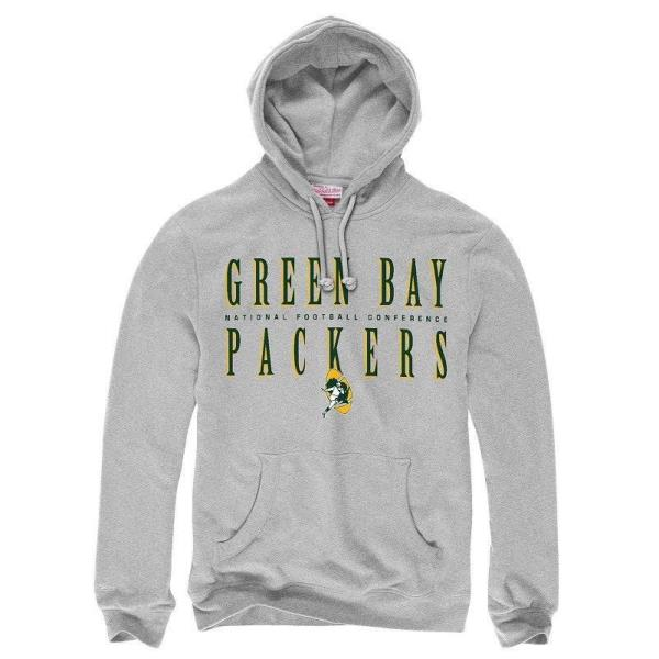 size 40 02b29 72c10 Green Bay Packers Hoodie Men's NFL Throwbacks Tight Defense ...