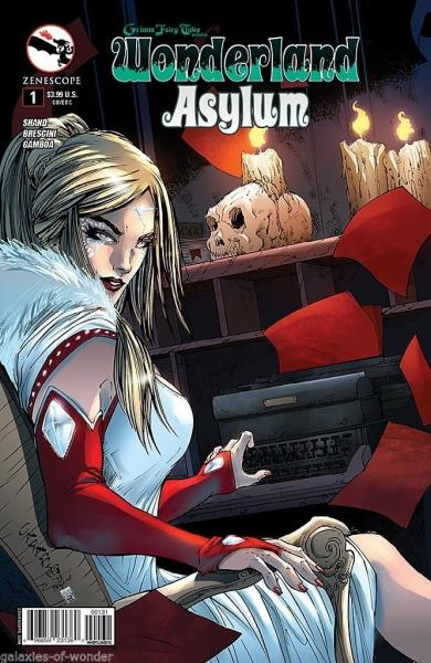 1A cover Grimm Fairy Tales Presents ~ Zenescope The Shadowlands #1 Hunters