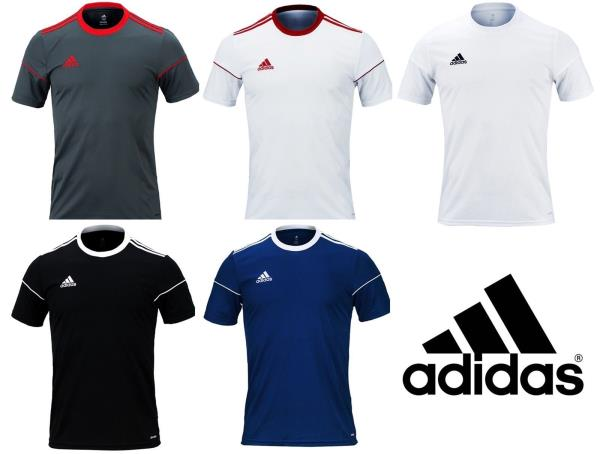 Details about Adidas Men Squadra 17 Climalite Top Soccer Football Fitness SS Jersey BJ9181