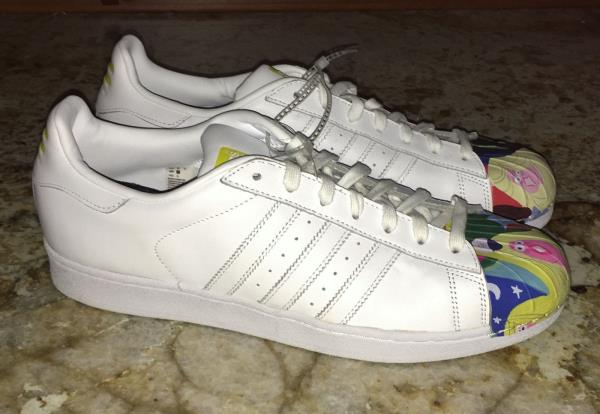 ADIDAS White Todd James Supershell Superstar Pharrell Shoes