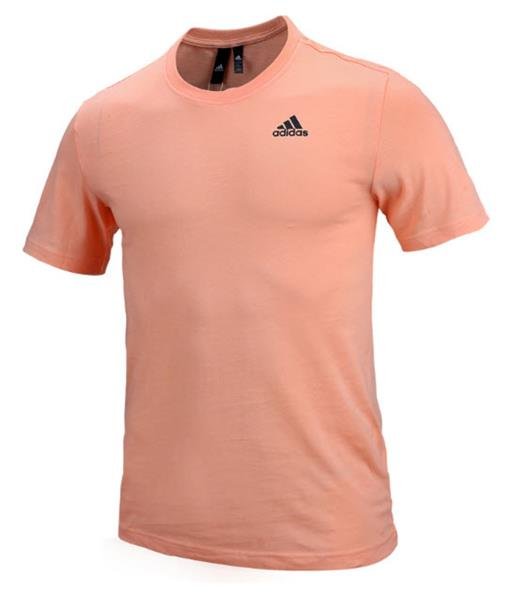 ba4002642e42a Details about Adidas Men Must Have BOS Shirts Training White Pink Running  Shirt Jersey ED7264