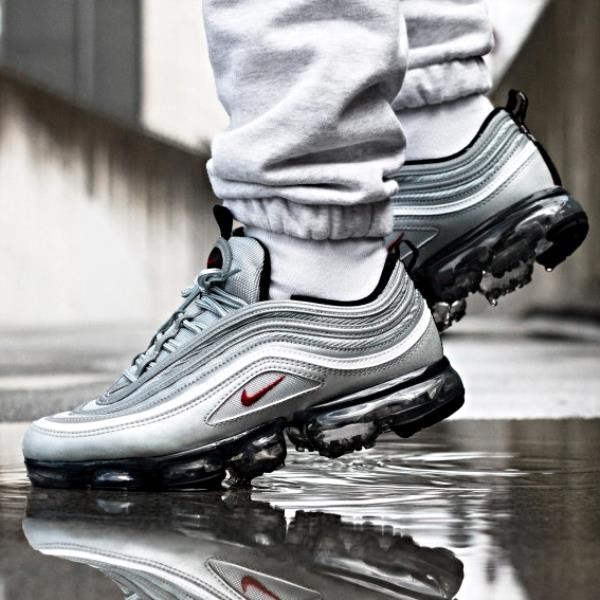 the latest 32cd4 7311b Details about Nike AIR VAPORMAX 97 Silver Bullet Size 7 8 9 10 11 12 Mens  Shoes AJ7291-002