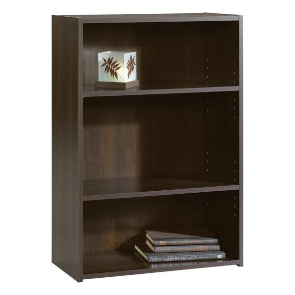 Tremendous Details About Brown Finish 3 Shelf Bookcase Wooden Bookshelf Adjustable Shelves Storage Home Download Free Architecture Designs Rallybritishbridgeorg
