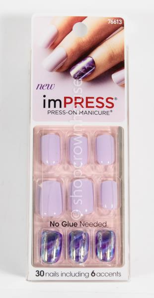 ImPress Broadway Nails Press-On Gel Manicure #76613 WILDFLOWERS ...