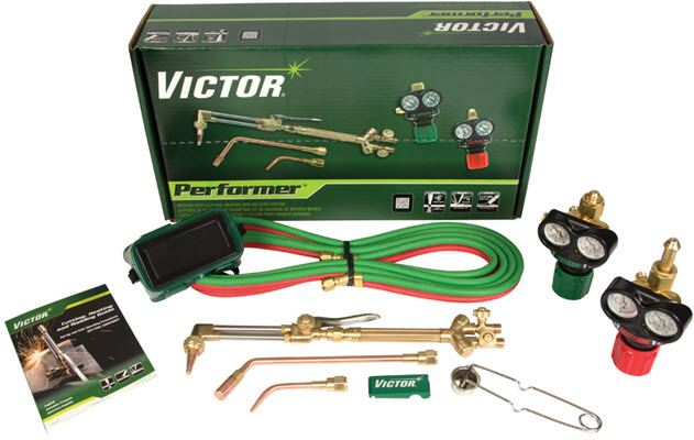 Victor Performer Medium Duty Acetylene Heating Welding//Cutting Outfit 0384-2046