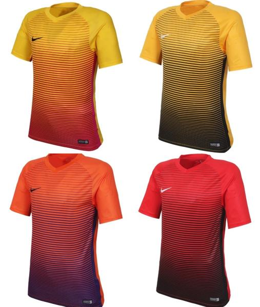 c6a498f9d4b5 Nike Men Pre-Season IV S S T-Shirts Soccer Red Tee Jersey Shirts ...