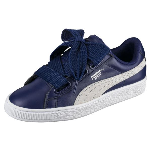 ... Basket Heart DE - Navy White Sneaker. Style  364082-02. Color  Blue  Depths-Puma White Gender  Womens acbf82aed
