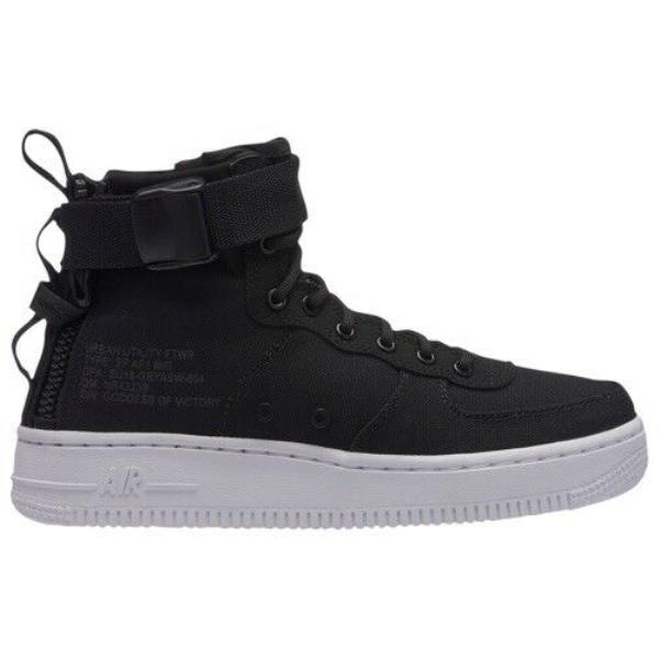 Details about Nike SF Air Force 1 Mid (GS) # AJ0424 004 Black White Big Kids SZ 7 youth