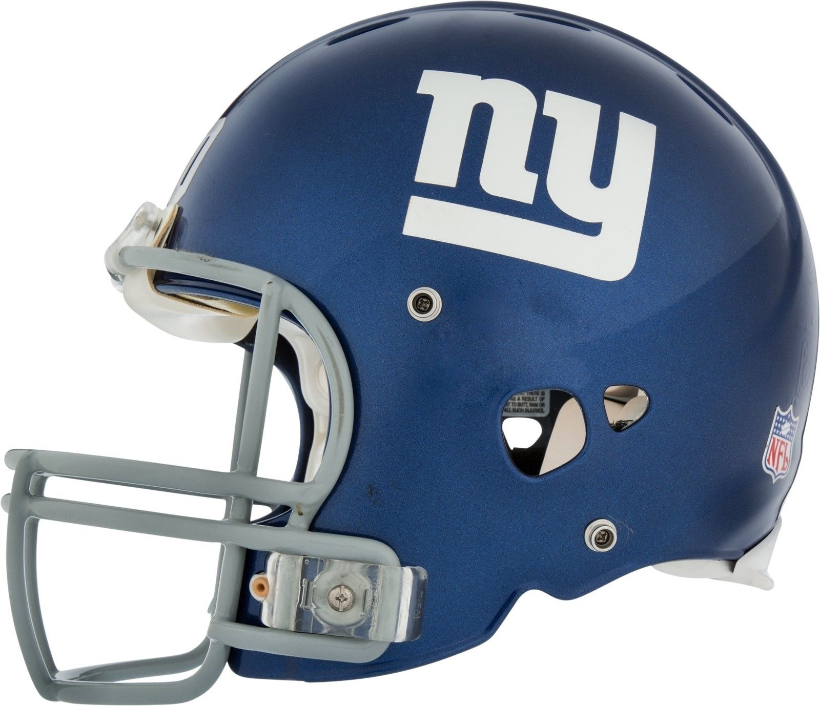 Eli Manning Signed Game Used New York Giants Helmet With Photo Match ... 426c7f579