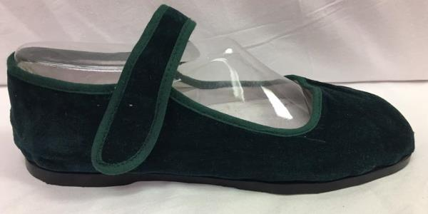 Discontinued Women/'s Brown Velvet Buckle Mary Jane w//Brown Sole  Sizes 5 /& 11