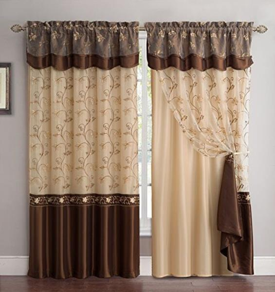 valance living room for with ideas elegant curtains popular