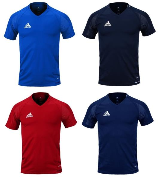 af459896 Adidas Jersey Shorts Sleeve feature Lightweight, strategically placed mesh  enhances airflow for optimal comfort and breathability.