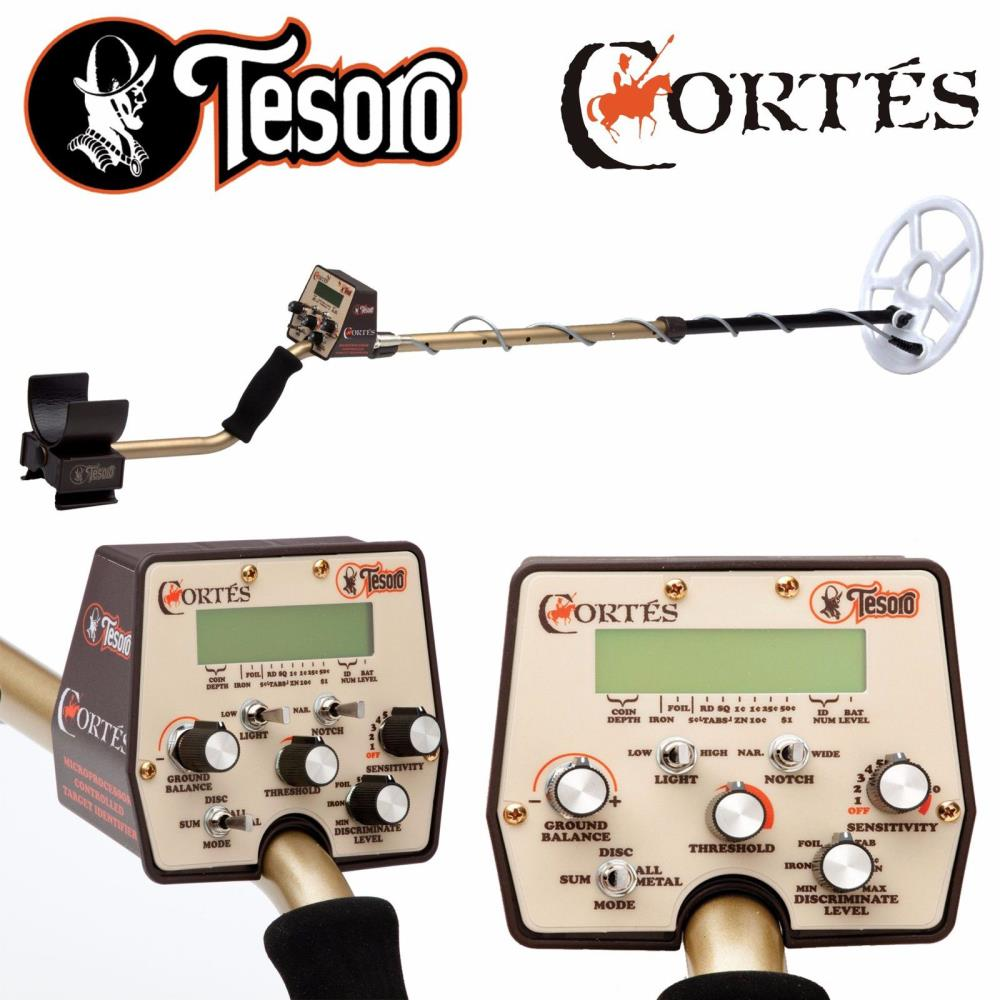 Details about Tesoro Cortes Metal Detector with 9