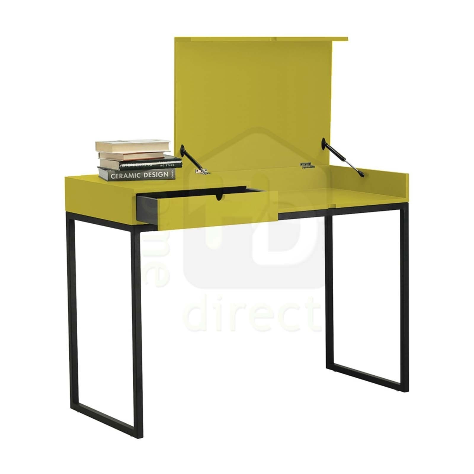 Hermes Desk In Olive Yellow