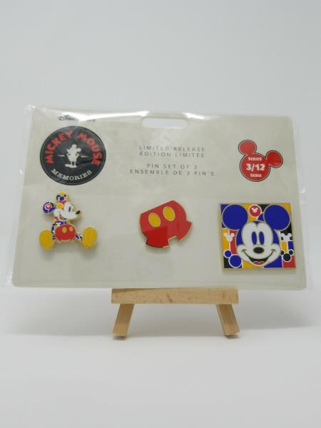 Limited disney pin set mickey mouse memories march month disney Store