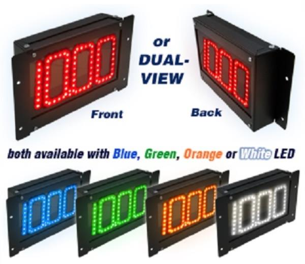 Digital Delay MEGA DIAL 2 Black Dial In Boards Red Blue Green LED Readouts 1060