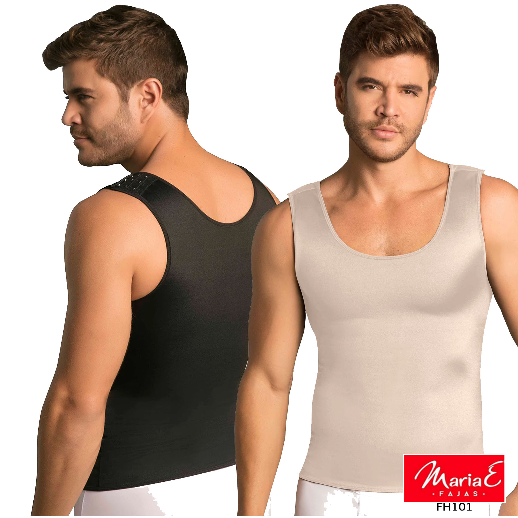Men Colombian Posture Corrector Tank Vest Body Top Shapewear Gym Fitness Thermal