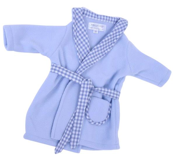 PALE BLUE DRESSING GOWN TO FIT 18-20 INCH BOY DOLLS BABY GEORGE ...
