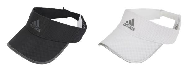 cfffdc8ed6 Details about Adidas Running Climacool Visor Caps Hat White Black  Adjustable Hats Cap CF5236