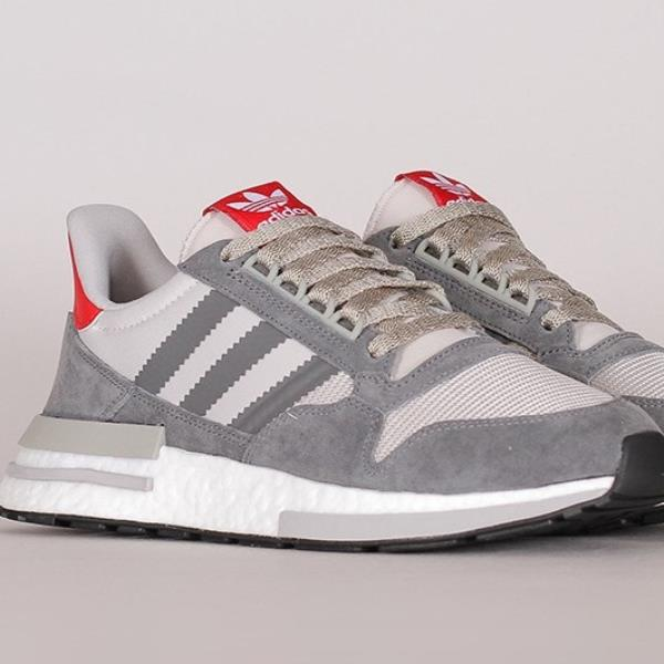 detailed look c2649 173f5 Details about Adidas ZX 500 RM Sneakers Grey Size 8-12 Mens NMD Boost Y-3  Ultra New