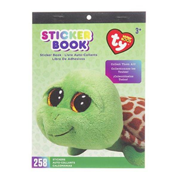 Darice visibility beanie Boo sticker book has the Zippy turtle theme. There  are 258 individual stickers in this book. The book of stickers measures 6  by 9 ... ffb984b017f